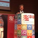 Il Presidente di QUI! Group, Gregorio Fogliani, a SIA EXPO 2014
